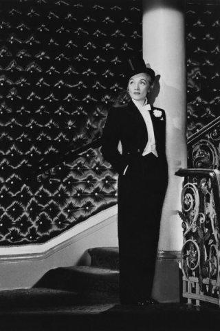 Marlene Dietrich at Cafe de Paris