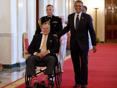 The High Geezer Style Of George H W Bush Sock Man Landlordrocknyc
